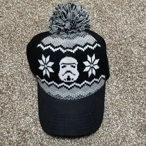Star Wars Knit Stormtrooper Pom Cap Hat